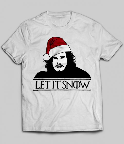 Let It Snow Christmas Game of Thrones