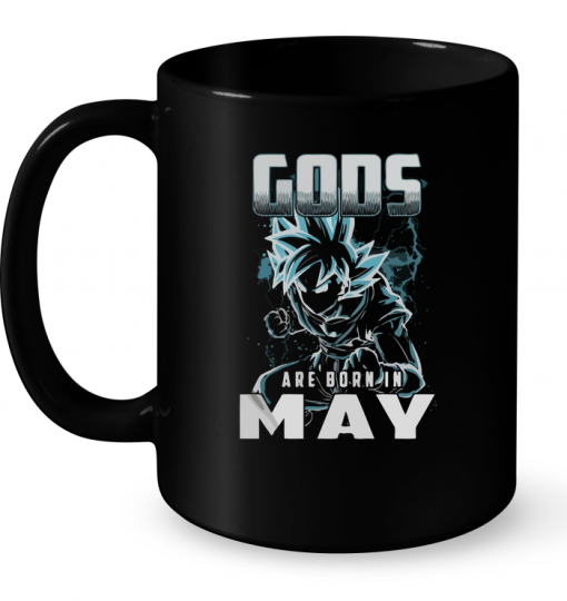 Gods Are Born In May (Super Saiyan) Mug