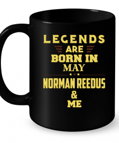 Legends Are Born In May Norman Reedus & Me Mug