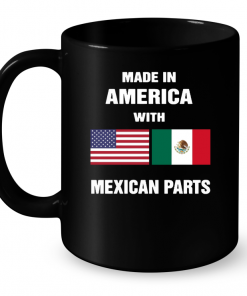 Made In America with Mexican Parts Mug
