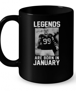 Legends Are Born In January (J.J.Watt) Mug