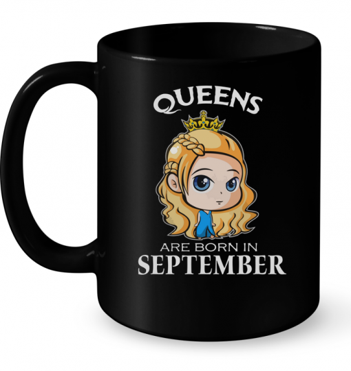 Queens Are Born In September (Cersei Lannister) Mug