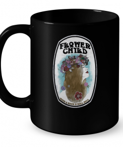 Flower Child With A Rock And Roll Soul Mug