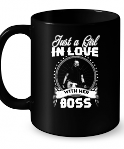 Just A Girl In Love With Her Boss Mug