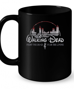 Walking Dead Fight The Dead Fear The Living Mug