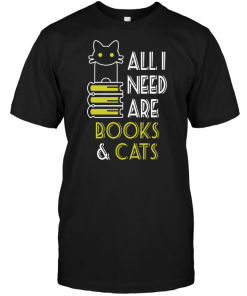 All I Need Are Books Cats