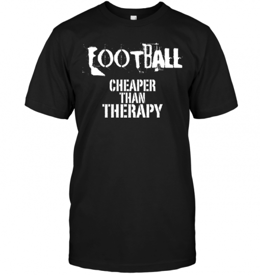 Football Cheaper Than Therapy
