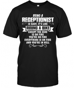 Being A RecepItionist s Easy It's Like Riding A Bike