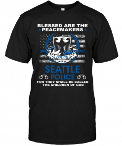 Blessed Are The Peacemakers Seattle Police