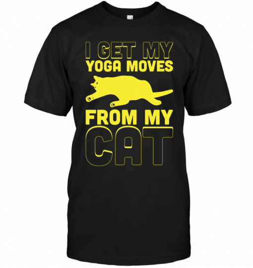 I Get My Yoga Moves From My Cat