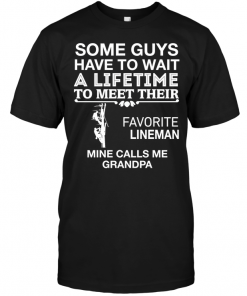 Some Guys Have To Wait A Lifetime To Meet Their Favorite Lineman Mine Calls Me Grandpa