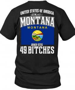 United States Of America You Mean Montana And Its 49 Bitches