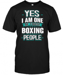Yes I Am One Of Those Boxing People