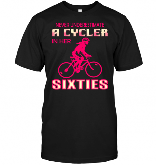 Never Underestimate A Cycler In Her Sixties
