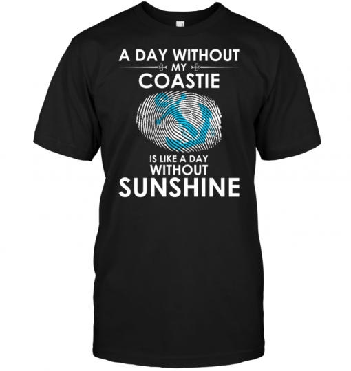 A Day With Out My Coastie Is Like A Day Without Sunshine