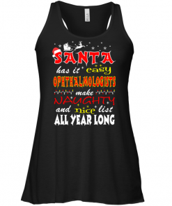 Santa Has It Easy Ophthalmologists Make Naughty And Nice List All Year Long Tank