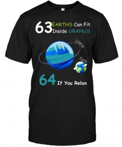 63 Earths Can Fit Inside Uranus 64 If You Relax