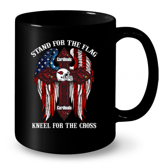 Cardinals Stand For The Flag Knell For The Cross Mug