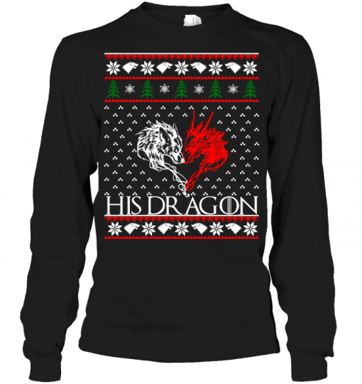 Christmas His Dragon Long Sleeve