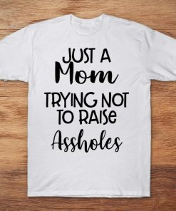 Just A Mom Trying Not To Raise Assholes