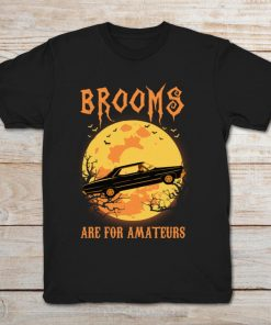 Supernatural Brooms Are For Amateurs Halloween