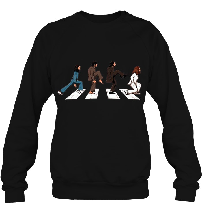 68bed396 The Beatles' Music Abbey Road Ministry of Silly Walks T-Shirt - TeeNavi