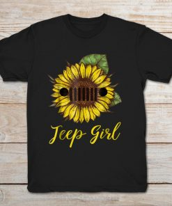 Sunflower Jeep Girl
