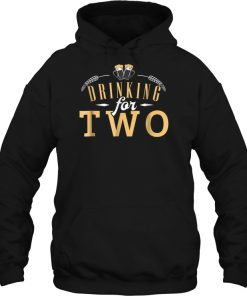 Beer Drinking For Two Hoodie