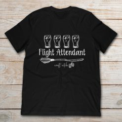 Glasses Of Beer Flight Attendant Craft Witch