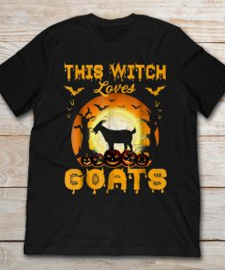 Halloween This Witch Loves Goats