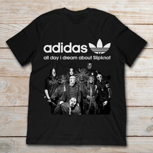 Halloween Adidas All Day I Dream About Slipknot