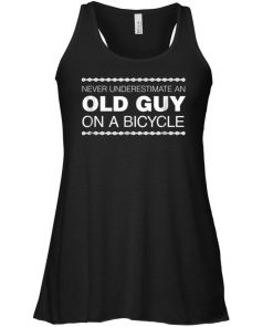 Never Underestimate An Old Guy On A Bicycle Tank