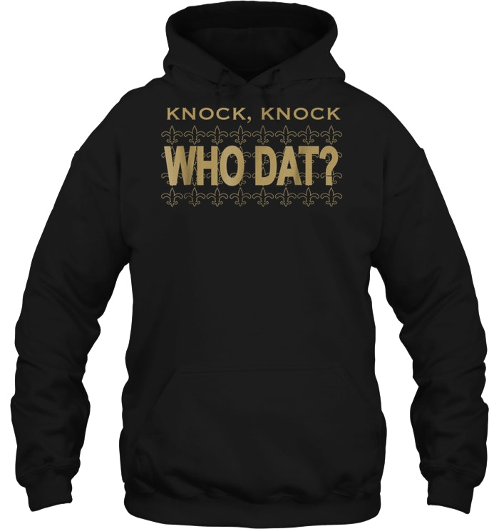 outlet store f3e4f 4d27f New Orleans Saints Knock Knock Who Dat