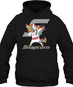snap-on Black Pullover Hood Sweatshirt Size S,M,L,XL available