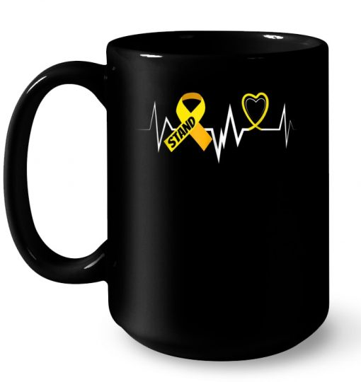 Stand Childhood Cancer Awareness Almost Died Mug