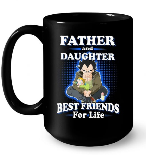 Vegeta Father And Daughter Best Friends For Life Mug
