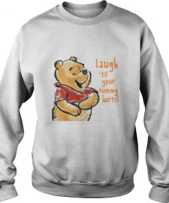 Winnie-the-Pooh Laugh 'til Your Tummy Hurts SweatShirt