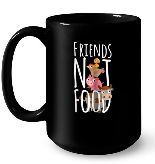 Cattle And Poultry Friends Not Food Mug