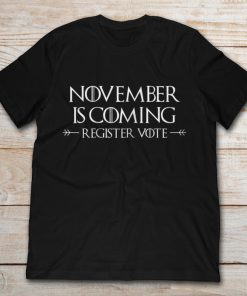 November Is Coming Register Vote