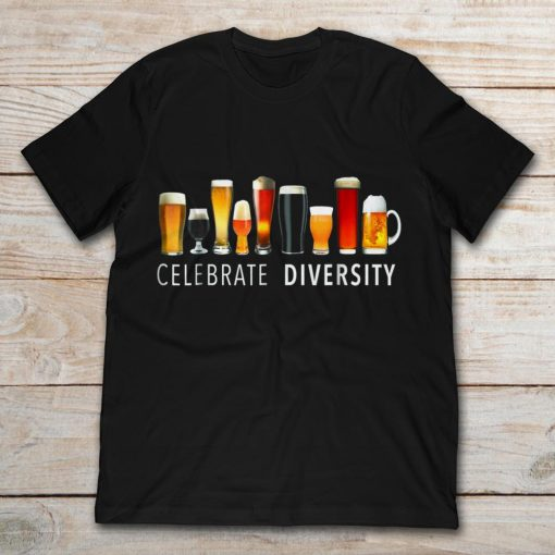 Celebrate Diversity Nine Glasses Of Beer