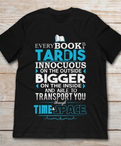 Every Book Is A Tardis Innocuous On The Outside Bigger