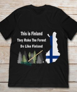 This Is Finland They Rake The Forest Be Like Finland