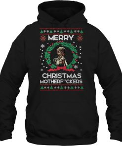 Jules Winnfield Pulp Fiction Merry Christmas Mother F**ckers  Hoodie