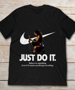 Wonder Woman Nike Just Do It Believe In Something