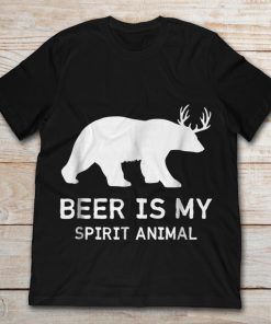 Beer Is My Spirit Animal Funny Drinking