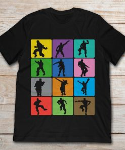 Silhouette Dance Moves Dancing Game Fan