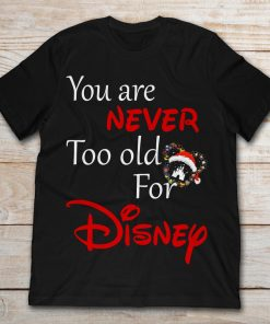 You Are Never Too Old For Disney Mickey Santa