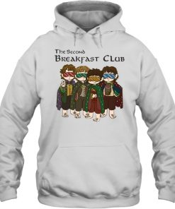 The Second Breakfast Club Lord Of The Rings Hoodie