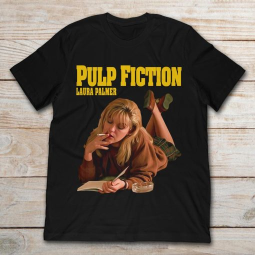Pulp Fiction Smoking Laura Palmer Twin Peaks