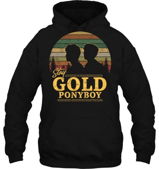 The Outsiders Stay Gold Ponyboy Vintage Hoodie
